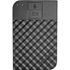 Hard Disk Drive portabil VERBATIM Fingerprint Secure, 1TB, USB 3.1, negru