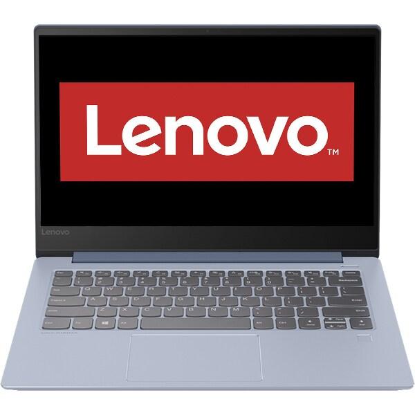 """Laptop LENOVO IdeaPad 530S-14IKB, Intel Core i7-8550U pana la 4.0GHz, 14"""" Full HD, 8GB, SSD 512GB, NVIDIA GeForce MX150 2GB, Free Dos, Liquid Blue"""