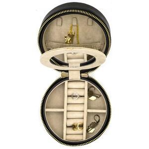 Cutie bijuterii  DAVIDTS Gatsby, 12cm, negru