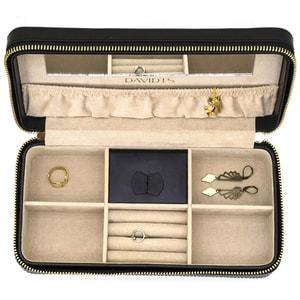 Cutie bijuterii  DAVIDTS Gatsby, 24cm, negru