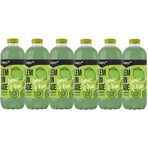 Bautura racoritoare necarbogazoasa CAPPY Lemonade Lamaie si Kiwi bax 1.25L x 6 sticle
