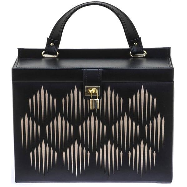 Cutie bijuterii  DAVIDTS Gatsby, 29cm, negru