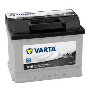 Baterie auto VARTA Black Dynamic C15, 12V, 56Ah, 480A