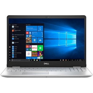 """Laptop DELL Inspiron 5584, Intel Core i7-8565U pana la 4.6GHz, 15.6"""" Full HD, 8GB, SSD 256GB, NVIDIA GeForce MX130 2GB, Windows 10 Home, argintiu"""