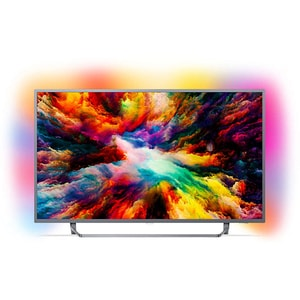 Televizor LED Smart PHILIPS 50PUS7303/12, Ultra HD 4K, HDR, Ambilight, 126 cm