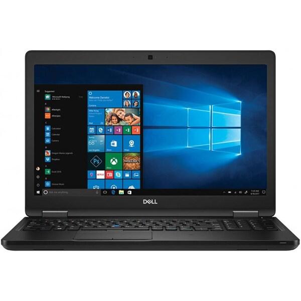 "Laptop DELL Latitude 5591, Intel Core i5-8400H pana la 4.2Ghz, 15.6"" Full HD, 16GB, SSD 512GB, Intel® UHD Graphics 630, Windows 10 Pro, negru"