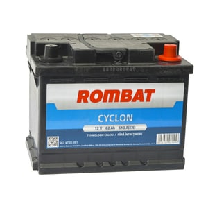 Baterie auto ROMBAT Cyclon 5624720051ROM, 12V, 62Ah, 510A