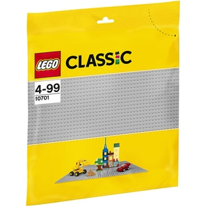 LEGO Classic: Placa de baza gri 10701, 4 ani+, 1 piesa