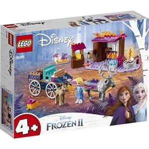 LEGO Disney Princess: Aventura Elsei cu trasura 41166, 4 ani+, 116 piese