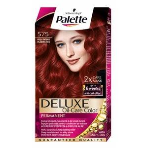 Vopsea de par PALETTE Deluxe, 575 Rosu Intens, 115ml