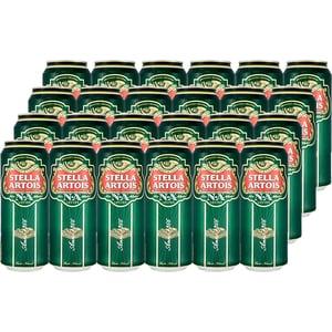 Bere blonda superioara fara alcool Stella Artois bax 0.5L x 24 doze