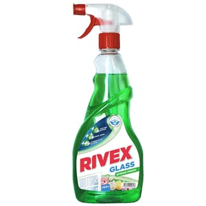 Solutie de curatat geamuri RIVEX Glass Spring Fresh, 750ml