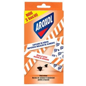 Capcane anti-molii de alimente AROXOL, 3 bucati