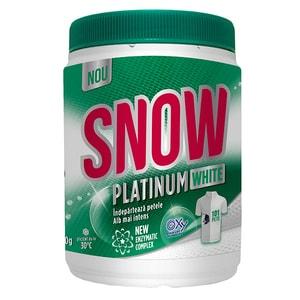 Pudra pentru indepartarea petelor SNOW Platinum White, 400g