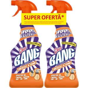 Duo Pack CILLIT Bang 2 x Limescale&Grime