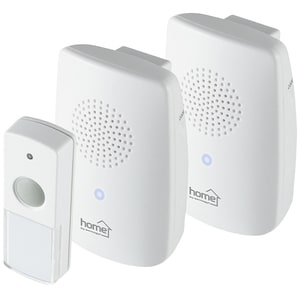 Sonerie wireless HOME DBS 1001DC, 100m, alb