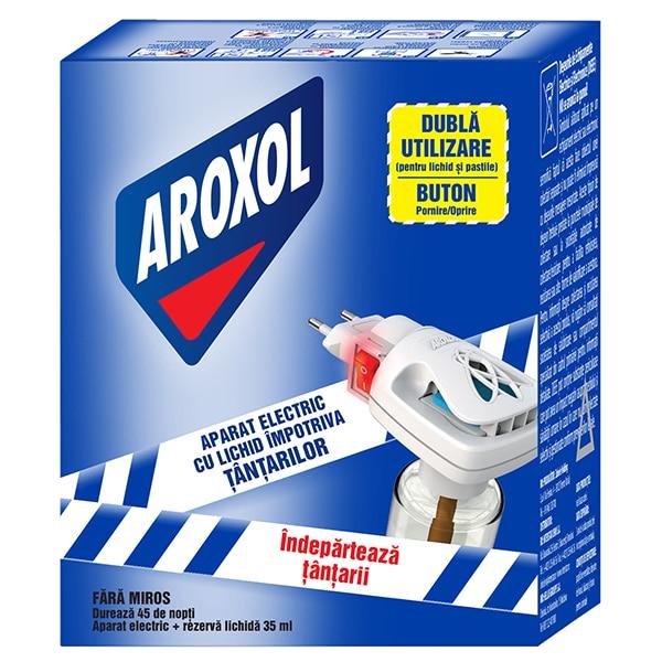 Aparat electric anti-tantari AROXOL, 45 nopti