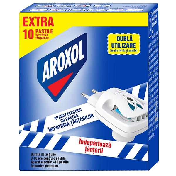 Aparat electric anti-tantari AROXOL + 10 pastile
