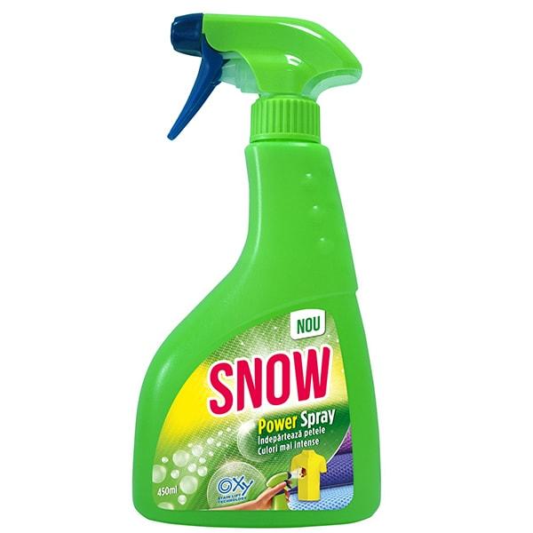 Spray pentru indepartarea petelor SNOW Power, 450ml