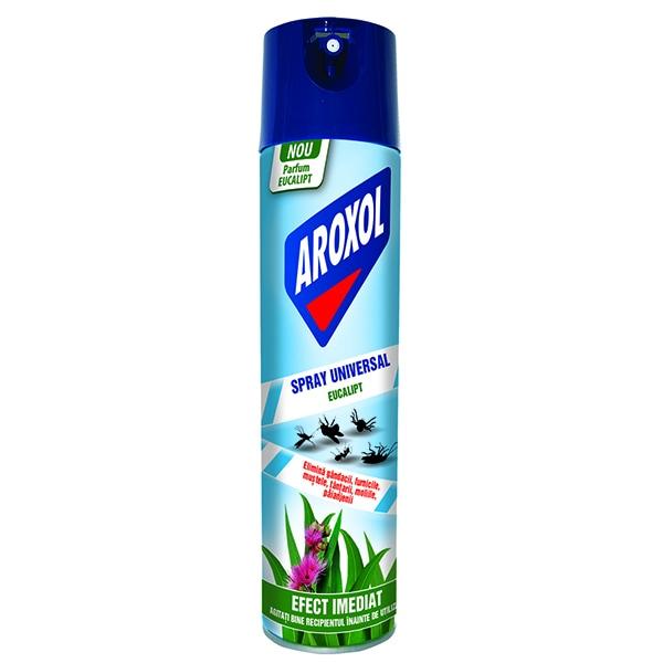 Spray anti-insecte AROXOL Universal Eucalipt, 400ml