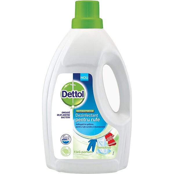 Dezinfectant haine DETTOL Fara parfum, 1.5l