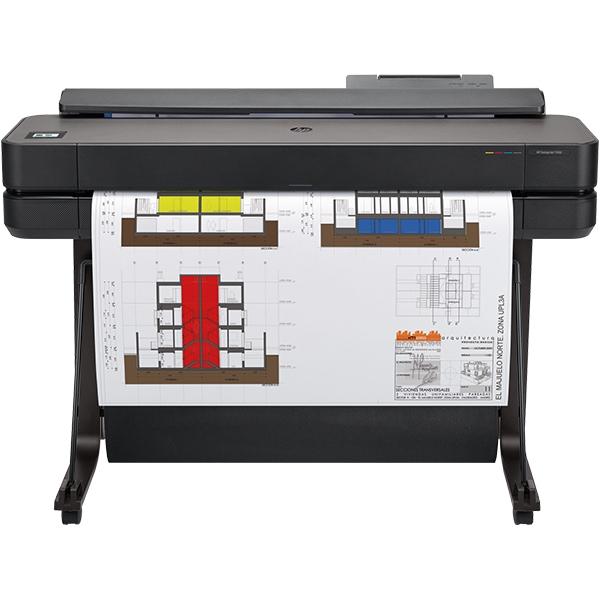 Plotter HP DesignJet T650, 36 inch, A0, USB, Retea, Wi-Fi
