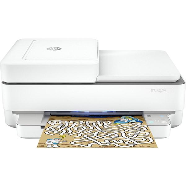 Multifunctional inkjet color HP DeskJet Plus Ink Advantage 6475, A4, USB, Wi-Fi