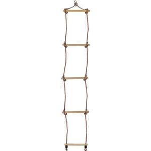Scara din lemn BEST SPORTING 60170, 5 trepte, 160 cm, maro