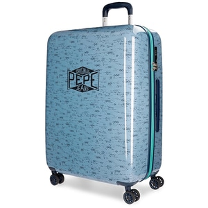 Troler PEPE JEANS LONDON Pierce, 69 cm, albastru
