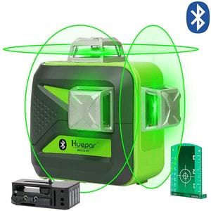 Nivela cu laser HUEPAR 603CG-BT, raza 40m, negru-verde