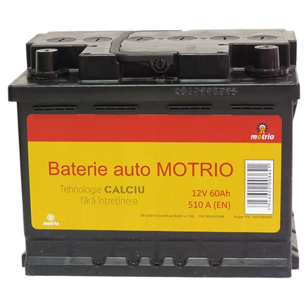 Baterie auto MOTRIO 6001998867, 12V, 60Ah, 510A