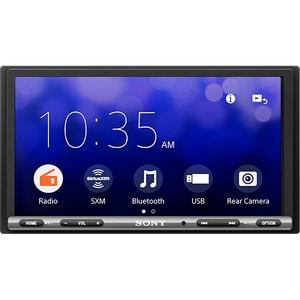 Media receiver auto SONY XAVAX3250, 4 x 55W Touch, Bluetooth, USB, ExtraBass, negru