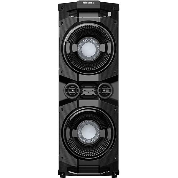 Sistem audio HISENSE HP130, 400W, Dolby Digital, Bluetooth, Extra bass, FM, negru