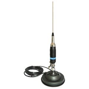 Antena CB PNI S9 lungime 120 cm si magnet cu fluture PNI 120/DV 125 mm inclus