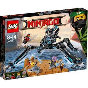 LEGO Ninjago: Paianjen de apa 70611, 8 - 14 ani, 494 piese