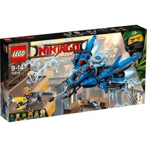 LEGO Ninjago: Avion cu reactie 70614, 9 - 14 ani, 876 piese