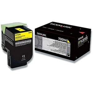 Toner LEXMARK XL 70C0H40 700H4, galben