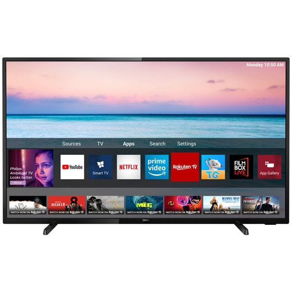Televizor LED Smart PHILIPS 70PUS6504/12, Ultra HD 4K, HDR10+, 178 cm