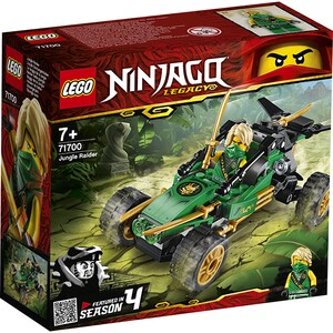 LEGO Ninjago: Jungle Raider 71700, 7 ani+, 127 piese