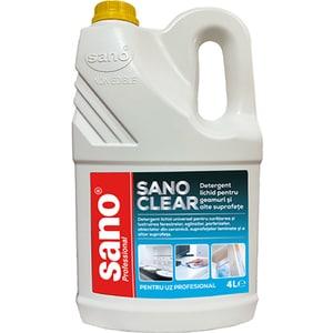 Solutie de curatat geamuri SANO Clear, 4l