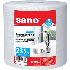 Prosoape de hartie SANO SuperStrong, 3 straturi, 1 rola