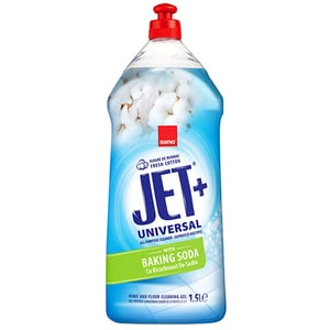 Solutie de curatare suprafete cu bicarbonat de sodiu SANO JET Fresh Cotton, 1.5 l