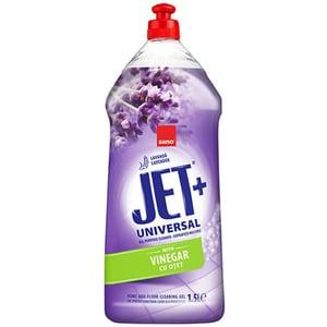Solutie de curatare suprafete cu otet SANO JET Lavender, 1.5 l