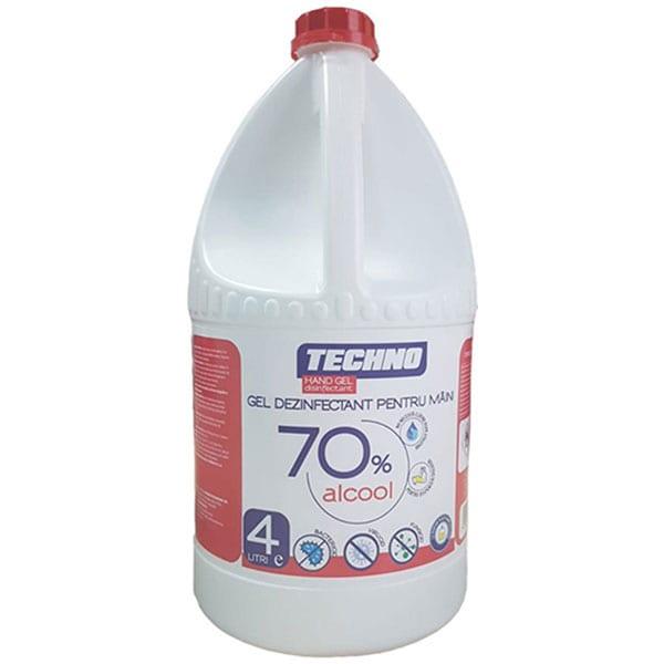Gel dezinfectant pentru maini SANO Techno, 4000 ml