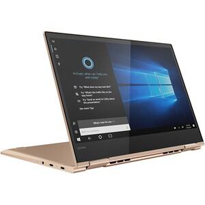 "Laptop 2 in 1 LENOVO Yoga 730-13IKB, Intel Core i7-8550U pana la 4.0GHz, 13.3"" 4K Touch Display, 16GB, SSD 512GB, Intel UHD Graphics 620, Windows 10 Home, Cooper"