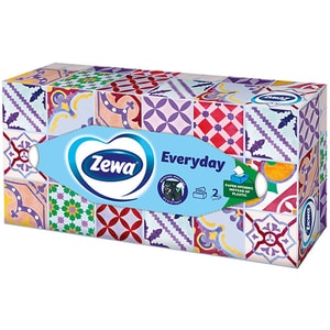 Servetele faciale ZEWA Everyday, 2 straturi, 100 buc