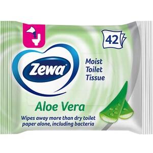 Hartie igienica umeda ZEWA Aloe Vera, 42 bucati