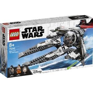 LEGO Star Wars: TIE Interceptor Asul negru 75242, 8 ani+, 396 piese