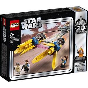 LEGO Star Wars: Anakin's Podracer - editie aniversara 20 de ani 75258, 7 ani+, 279 piese