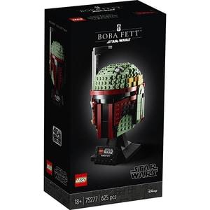 LEGO Star Wars: Casca lui Boba Fett 75277, 18 ani+, 625 piese